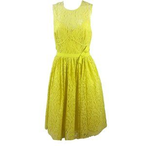 Tracy Reese/Anthro Lace Dress Fully Lined
